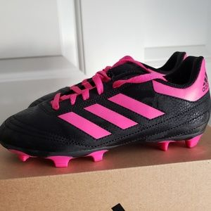 Youth Adias soccer cleats